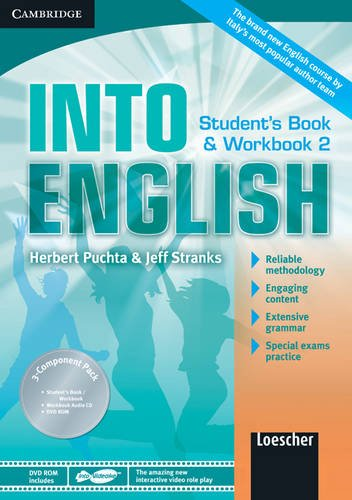 Into english. Student's book-Workbook. Per le Scuole superiori. Con CD Audio. Con DVD-ROM. Con espansione online: 2