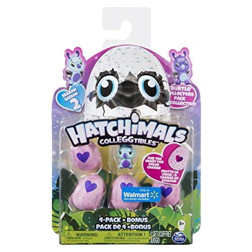 Spin Master 6041338  -  Hatchimals  -  CollEGGtibles 4 Pack + Bonus S2