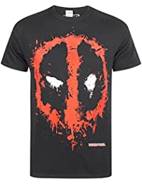 e4837e8e2ff Marvel Deadpool Splat Logo Men s T-Shirt