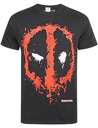 ce0f744c00a Marvel Deadpool Splat Logo Men s T-Shirt