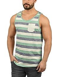 !Solid Whicco Camiseta Básica De Tirantes Tanque Tank Top para Hombre con Cuello Redondo