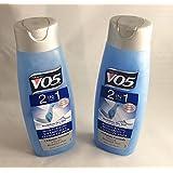 2pck - VO5 Shampoo/Conditioner 2 in 1 Moisturizing 12.5 Oz