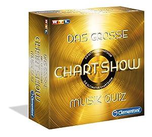 Clementoni - Juego de Preguntas Chart Show Music Quiz (69366.5)