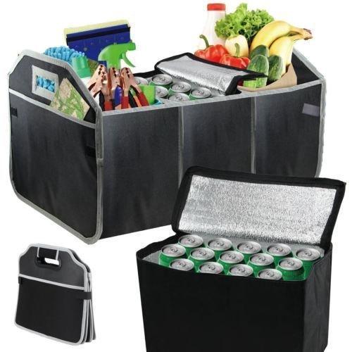 Preisvergleich Produktbild Ram Strapazierfähige Premium-Kofferraumtasche mit Mehrzweck-Fächern und abnehmbarer Picknick-Kühltasche
