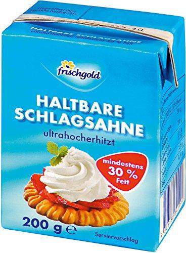 Frischgold - H-Schlagsahne 30% Fett - 200g