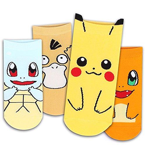 Eleccin-Pokemon-calcetines-Pack-de-4-pares