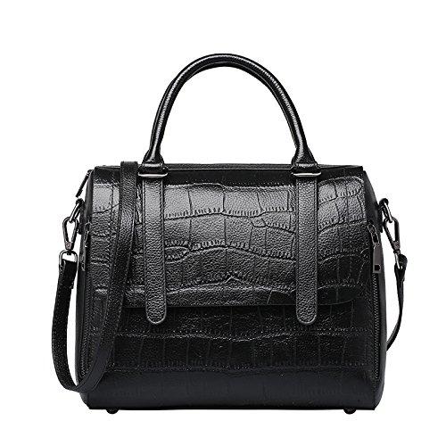 GUANGMING77 _ Mobile Messenger Bag Borsa A Tracolla Per Donne,Viola black