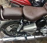 #3: SaharaSeats™ Classic 350/500 Original Brown Cushion Seat Cover for Gun Metal Grey and Signals (Coffee Brown)