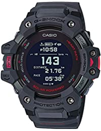 Casio G-shock Black Dial Smartwatch G-squad Series for Men with Heart Rate Monitor + Gps Fuction + Solar Powered - GBD-H1000-8DR (G1038)