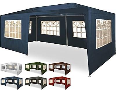 Festzelt mit Seitenwänden 3x6m 2,5m Rimini blau - Bierzelt Partyzelt Gartenzelt Pavillon Gartenpavillon Zelt von Deuba - Gartenmöbel von Du und Dein Garten