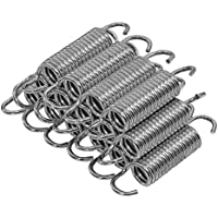 Upper Bounce Trampoline Springs, Heavy-Duty Galvanized 3/4-Inch Coil, Set of 15 .