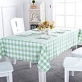 Asvert Manteles de Mesa Antimanchas y Resistente a Líquidos de Forma Rectancular 140x180cm para Mesas de Comedor Cocina y Bar