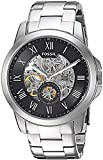 Fossil ME3055 Automatic Grant Black Dial Men's Stainless Steel Men's Watch