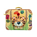 Okiedog Wildpack Tiger Suitcase - suitcases