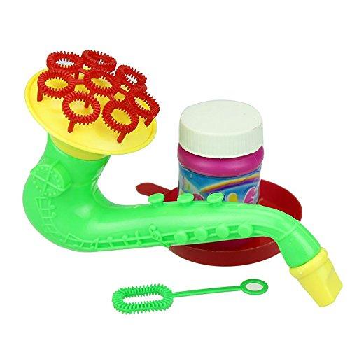 Dream Room Seifenblasenmaschine, Lautsprecher Blow Pipe Bubble Machine für Kinder Indoor und Outdoor Bubble Maker Spiele, perfekt für Partys, Wedding (Stil 2)