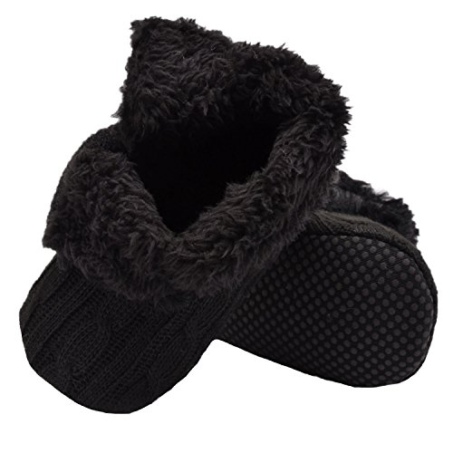 Fletion Neu Plüsch Babyschuhe Winter Wolle Baby Stiefel Weich Sohle Warme Boots Kleinkind Baumwolle Stiefel Schwarz