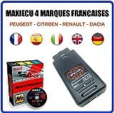 MISTER DIAGNOSTIC Diagnose-Interface MPM-COM + MaxiECU 2 für 4 französische Marken (Peugeot, Citroen, Renault und Dacia) – professionelle Diagnose