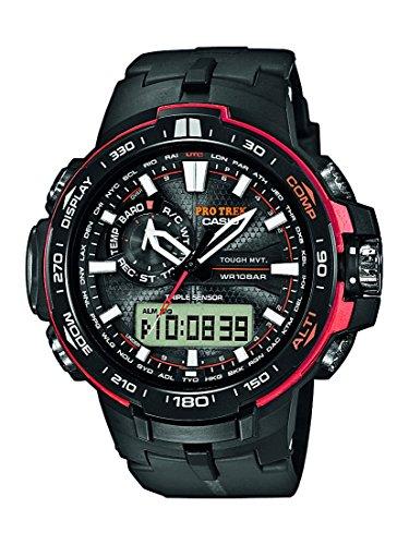 CASIO Pro Trek Herren-Armbanduhr -MONTE PIANA- PRW-6000Y-1ER