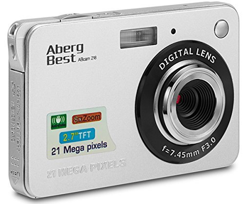 AbergBest Appareil Photo 21 Mega Pixels 2.7 LCD HD