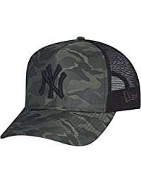 New Era Trucker Cap - NYLON SATIN New York Yankees wood camo
