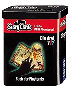 KOSMOS 688028 - Story Cards - Die drei ??? Buch der Finsternis