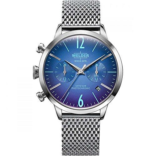 WWRC615 Welder Moody - Reloj para mujer en acero con crono y calendario