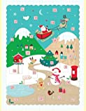 Rachel Ellen Alpine Snow Scene Advent Calendar