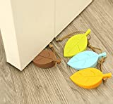 Best Door Stops - Lukzer (4 Pcs) Leaf Shape Door Stopper Silicone Review