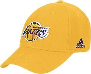 Los Angeles Lakers Adidas NBA Pro Adjustable Gold Hat