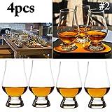 Justdolife Whisky Glass Clear Scotch Glass Whisky Schalenglas