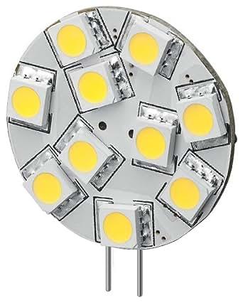 ampoule g4 led 1 8w pour 20w 12v 160 lumen 6000k lumiere du jour cuisine maison. Black Bedroom Furniture Sets. Home Design Ideas