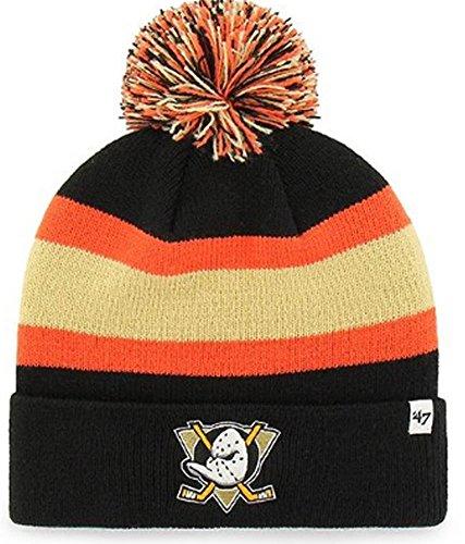e9b58124a2bc3 47 Brand NHL Anaheim Ducks Breakaway Cuff Knit Beany Hat One Size Mütze  Forty Seven