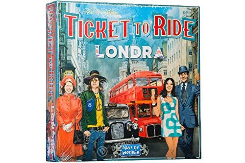 Asmodee Italia- Ticket to Ride Londra Gioco da Tavolo Interamente in Italiano, Colore, 8514