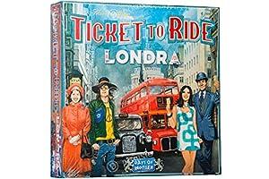 Asmodee Italia - Ticket to Ride London - Juego de Mesa íntegramente en Italia, Color 8514