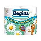 Regina Carta Igienica Cartacamomila - Pacco da 4 Rotoli