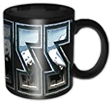 Kiss - Chrome Logo - Tasse im Geschenkkarton (Black Boxed Mug)