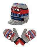 Disney Pixar Cars Schirmmütze und Handschuh Set, grau, 50