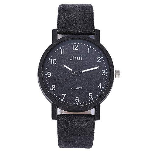 Uhren Damen Sport Uhr Quarz Uhren Analoge Uhr Diamant Leather Band runden Zifferblatt Quarz-Armbanduhr Analoge Quarz Studenten Armbanduhr,ABsoar