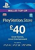 PlayStation PSN Card 40 GBP Wallet Top Up [PSN Download...