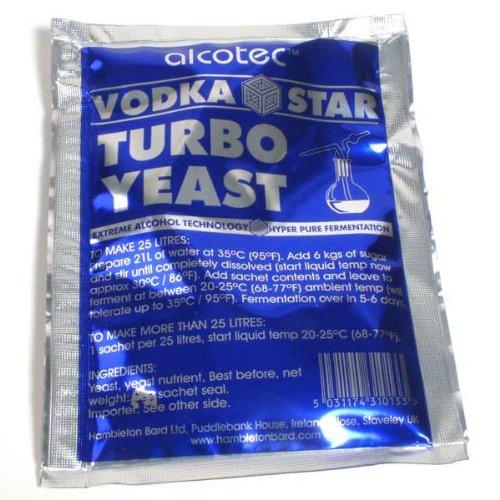 Vodka Alcotec Turbo Star levure