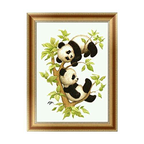 logres Panda Baby 5D Diamant Wandbild Ölgemälde Stickerei Kreuzstich DIY Art Craft Home Decor (Home Decor Diy)