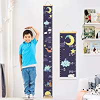 YZNlife Baby Growth Chart Ruler for Kids Wood Frame Height Measure Chart 7.9