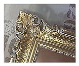 Bilderrahmen Gold-Weiß 90x70 cm ohne Glas Hochzeitsrahmen Selfie Fotorahmen Foto Requisiten Rahmen Antik Barock Rokoko Repro Shabby Chic RENAISSANCE JUGENDSTIL RETRO DESIGN MIT ORNAMENTVERZIEHRUNGEN LUXURIÖS PRUNKVOLL