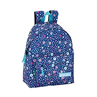 Day Pack Infantil Benetton UCB In Bloom Blue Oficial 330x150x420mm