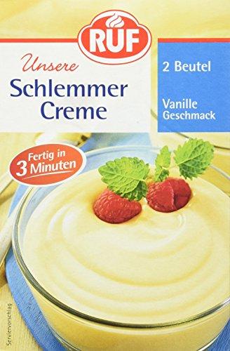 RUF Schlemmercreme Vanille-Geschmack, 10 er Pack (10 x 2 Beutel)