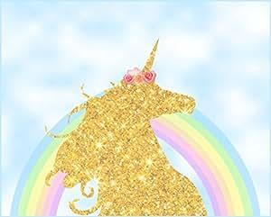 Untumble Unicorn Theme Birthday Party Banner Unicorn Theme Party