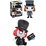 Funko POP! Alice Through The Looking Glass: Mad Hatter + Mopeez - Figure Set NEW