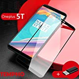 #3: OnePlus 5T Tempered Glass By Tempho™ Premium Quality Curved ,Complete Edge Coverage and Completely Glued With Installation Kit