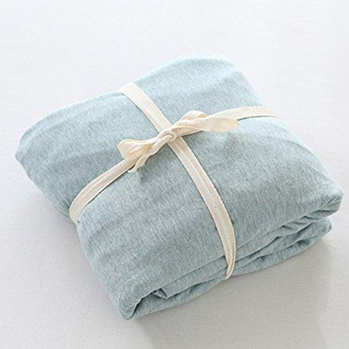 Nackt Fall (Weiche bettwäsche,Bettdecke matratze bett pads schützenden fall 360° volle abdeckung geeignet für nackt schlafen-tagesdecke für 5-25cm matratzen-A 180x200cm(71x79inch))