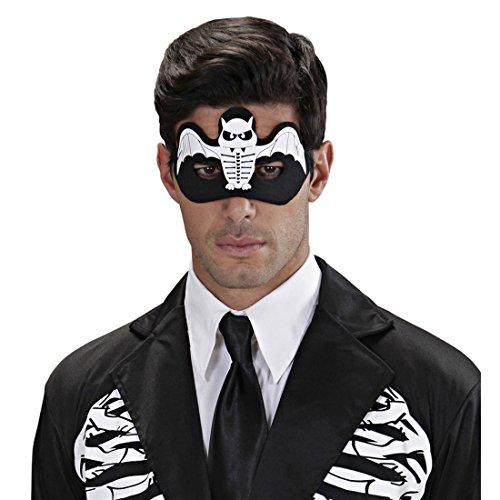 Augenmaske Halloweenmaske Fledermaus Gesichtsmaske Vampir Gruselige Domino Maske Kostüm Zubehör Erwachsene Vampirmaske Halloween